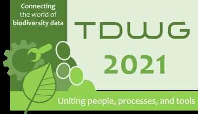 TDWG 2021 Logo